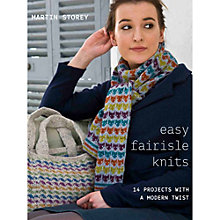 Buy Easy Little Fairisle Knits by Martin Storey Knitting Pattern Book Online at johnlewis.com