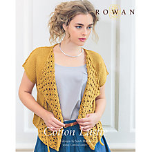 Buy Rowan Cotton Lustre by Sarah Hatton Knitting Pattern Book Online at johnlewis.com