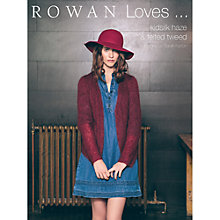 Buy Rowan Loves Kidsilk Haze & Felted Tweed by Sarah Hatton Knitting Pattern Book Online at johnlewis.com