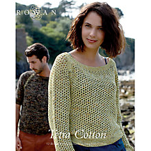 Buy Rowan Tetra Cotton by Lisa Richardson Knitting Pattern Book Online at johnlewis.com