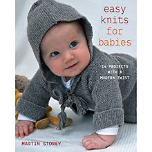 Buy Rowan Easy Knits For Little Babies by Martin Storey Knitting Book Online at johnlewis.com