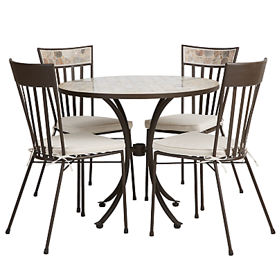 John Lewis Petra 4-Seater Table Set