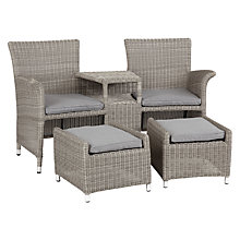 Buy John Lewis Dante Love Seat and Footstools Set Online at johnlewis.com