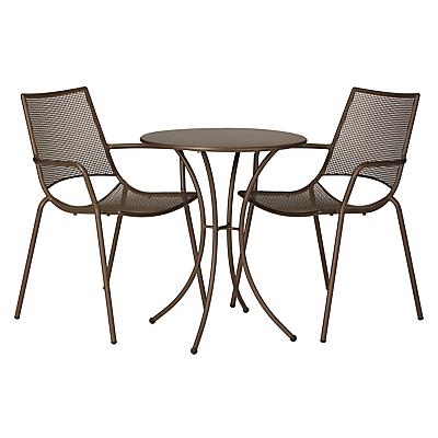 John Lewis Ala Mesh Table & Chairs Bistro Set