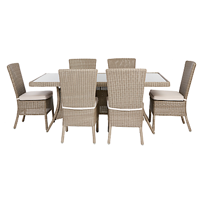 John Lewis Eve Outdoor Dining Table & Chairs Set