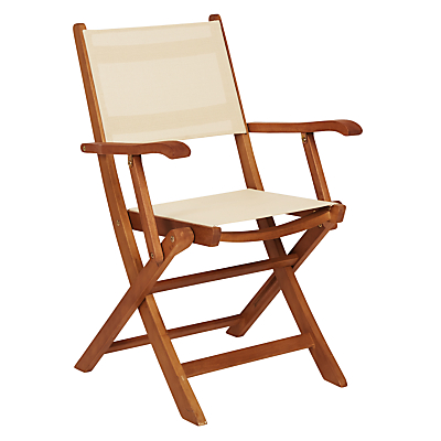 John Lewis Sienna Folding Dining Armchair