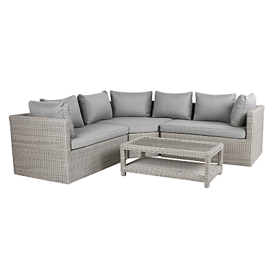 John Lewis Dante Corner Lounging Sofa With Table