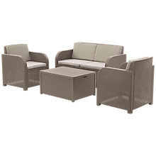 Buy Allibert Oasis Lounge Set Online at johnlewis.com
