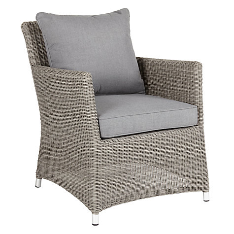 Buy john lewis dante garden lounging armchair john lewis for Patio furniture covers john lewis