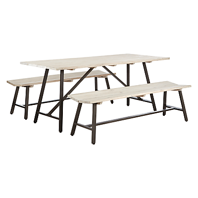 John Lewis Wharf Table And 2 Benches