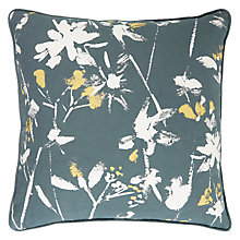 Buy John Lewis Croft Collection Floral Outdoor Square Cushion Online at johnlewis.com