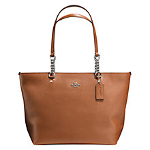 Buy Coach Sophia Leather Tote Online at johnlewis.com