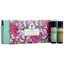 Buy Neal's Yard Remedies Aromatherapy Bath & Massage Set, 6 x 10ml Online at johnlewis.com