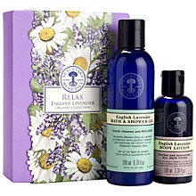 Buy Neal's Yard Remedies English Lavender Collection Online at johnlewis.com