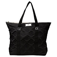 Buy Et DAY Birger et Mikkelsen Gweneth Sign Quilt Tote, Black Online at johnlewis.com