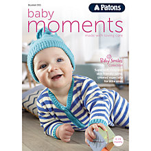 Buy Patons Baby Moments Knitting Book Online at johnlewis.com