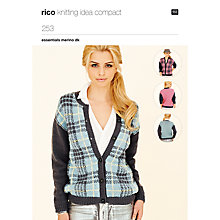Buy Rico Essentials Merino DK Cardigan Knitting Pattern, 253 Online at johnlewis.com