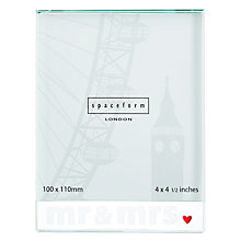 Buy Spaceform Mr & Mrs Large Frame Online at johnlewis.com