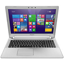 "Buy Lenovo Z51 Laptop, Intel Core i7, 8GB RAM, 1TB + 8GB SSHD, 15.6"", White Online at johnlewis.com"