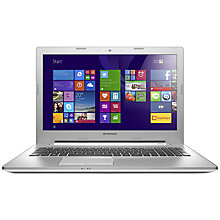 "Buy Lenovo Z50 Laptop, AMD FX, 8GB RAM, 1TB + 8GB SSHD, 15.6"" Online at johnlewis.com"