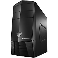 Buy Lenovo X310 Erazer Gaming Desktop PC, Intel Core i7, 12GB RAM, 2TB, Black Online at johnlewis.com