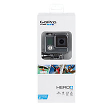 Buy GoPro Hero+LCD Camcorder, HD 1080p, 8MP, Bluetooth, Wi-Fi, Waterproof, Freezeproof, Shockproof, Dustproof with LCD Touchscreen Display Online at johnlewis.com
