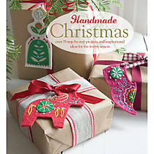 Buy Handmade Christmas Craft Book Online at johnlewis.com