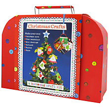 Buy Buttonbag Christmas Crafts In a Suitcase Kit Online at johnlewis.com
