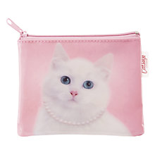Buy Catseye Cat With Pearl Necklace Coin Purse Online at johnlewis.com