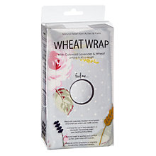 Buy John Lewis Wheat Wrap, Polka Rose Online at johnlewis.com
