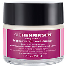 Buy OLEHENRIKSEN Empower Featherweight Moisturiser, 50ml Online at johnlewis.com