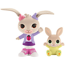 Buy Fisher-Price Bing Bunny Coco & Baby Charlie Figures Online at johnlewis.com