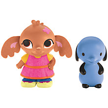 Buy Fisher-Price Bing Bunny Sula & Amma Figures Online at johnlewis.com