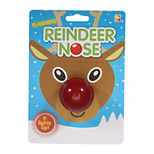 Buy Flashing Reindeer Nose Online at johnlewis.com