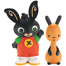 Buy Fisher-Price Bing Bunny Bing & Flop Figures Online at johnlewis.com
