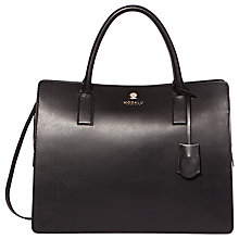 Buy Modalu Jasmine Triple Compartment Grab, Black Online at johnlewis.com