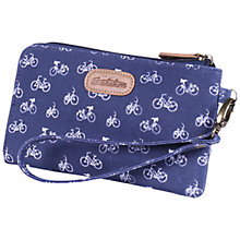 Buy Brakeburn Vintage Bicycle Clutch Purse, Navy Online at johnlewis.com