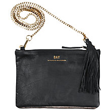 Buy Et DAY Birger et Mikkelsen Night Goldtile Dual Across Body Leather Bag, Gold Online at johnlewis.com