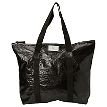 Buy Et DAY Birger et Mikkelsen Gweneth Metallic Tote Bag, Black Online at johnlewis.com