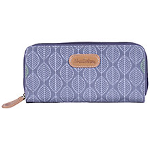 Buy Brakeburn Leaf Print Large Purse, Grey Online at johnlewis.com