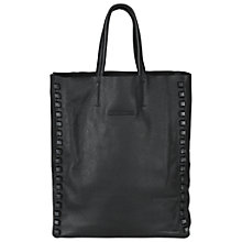 Buy Et DAY Birger et Mikkelsen Tricken Leather Tote Bag, Black Online at johnlewis.com