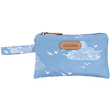 Buy Brakeburn Birds & Clouds Pouch Purse, Blue Online at johnlewis.com