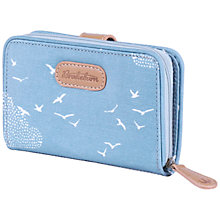 Buy Brakeburn Birds & Clouds Wallet, Blue Online at johnlewis.com