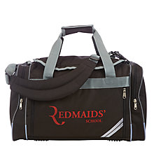 Buy The Red Maids' School Holdall, Black Online at johnlewis.com