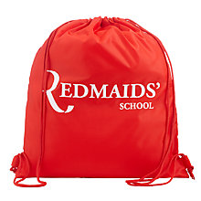 Buy The Red Maids' School Gym Bag, Red Online at johnlewis.com