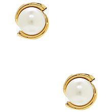 Buy kate spade new york Pearl Stud Earrings, Gold Online at johnlewis.com