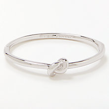 Buy kate spade new york Sailor Knot Hinge Bangle Online at johnlewis.com