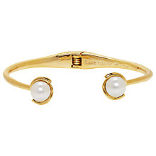 Buy kate spade new york Pearl Cuff, Gold Online at johnlewis.com