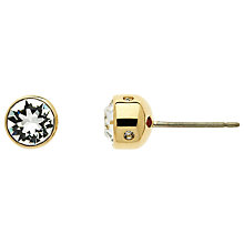 Buy Cachet Plated Swarovski Crystal Stud Earrings Online at johnlewis.com