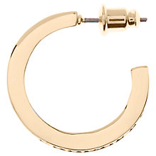 Buy Karen Millen Small Crystal Hoop Earrings Online at johnlewis.com